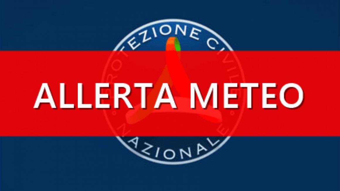 ALLERTA METEO – CRITICITA' ROSSA – 20 – 21 NOVEMBRE 2020