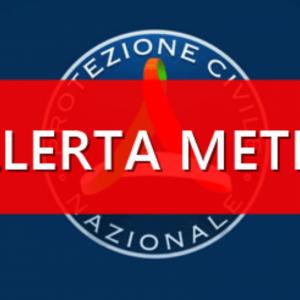 ALLERTA METEO 12.11.2019