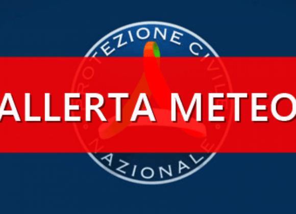 ALLERTA METEO – PROTEZIONE CIVILE 24.11.2019