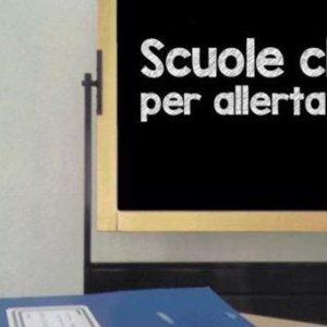 ORDINANZA N.52 – CHIUSURA SCUOLE DI OGNI ORDINE E GRADO – 12.11.2019