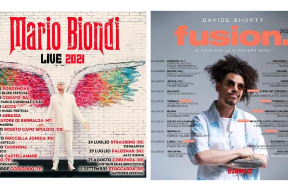 Comunicato Stampa – I GRANDI EVENTI DI ROSETO E'START 2021: MARIO BIONDI LIVE 2021 E DAVIDE SHORTY FUSION TOUR
