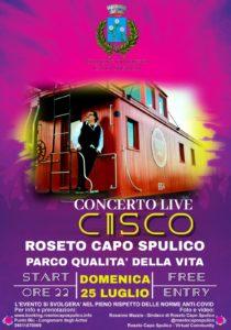CISCO - CONCERTO LIVE @ Parco Qualità della Vita