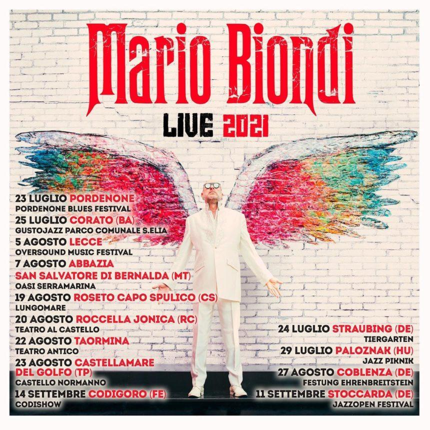MARIO BIONDI LIVE 2021
