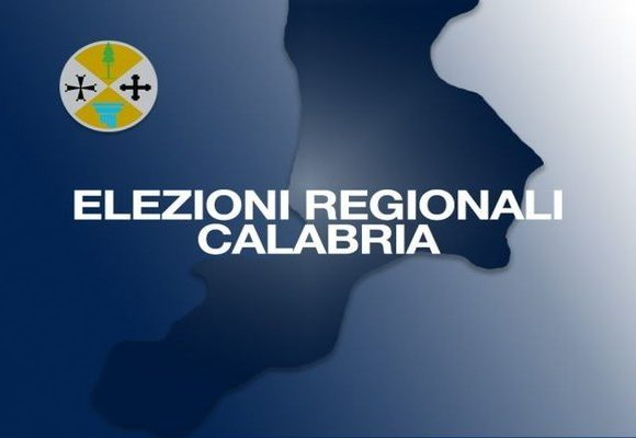 Elezioni Regionali del 3 e 4 ottobre 2021 -Manifesto recante i contrassegni e le liste dei candidati alle elezioni regionali della Calabria – Circoscrizione NORD.